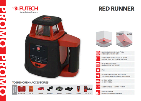 Futech Red Runner