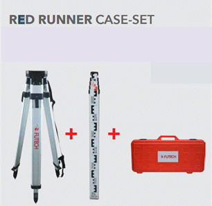 Futech red runner case set